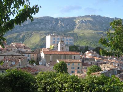 Vue de la terrasse Location Villa 95040 Valbonne