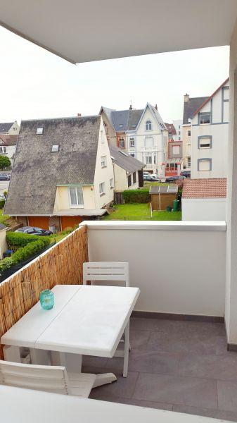 Vue du balcon Location Studio 97080 Wimereux
