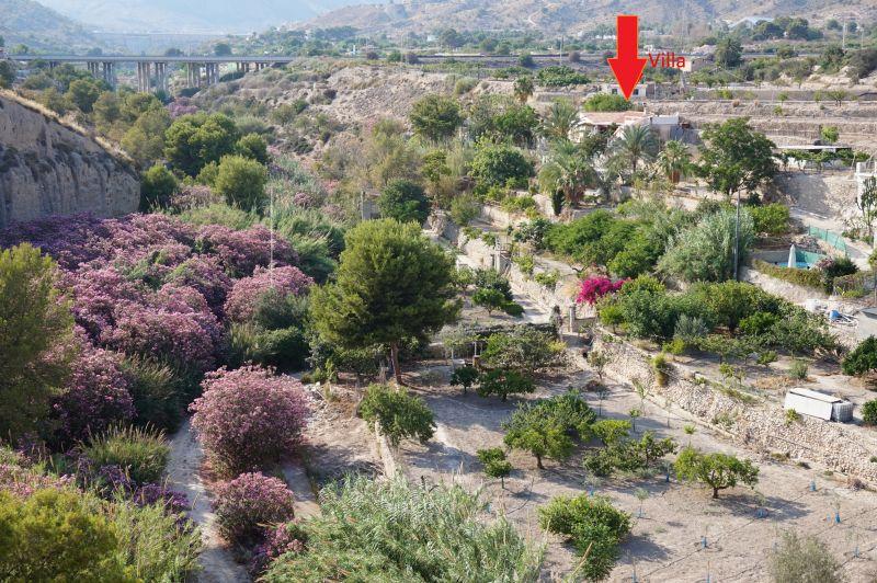 Vue extérieure de la location Location Villa 97736 Benidorm