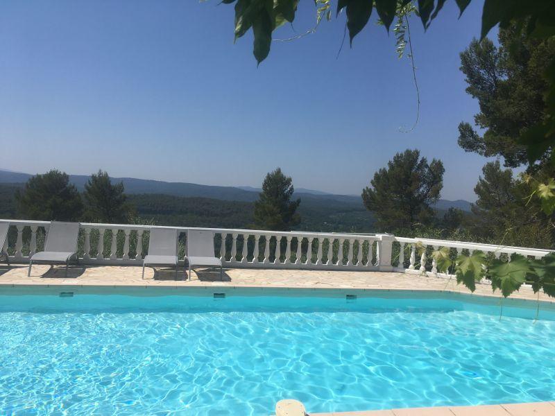 Vue extérieure de la location Location Villa 98164 Cotignac