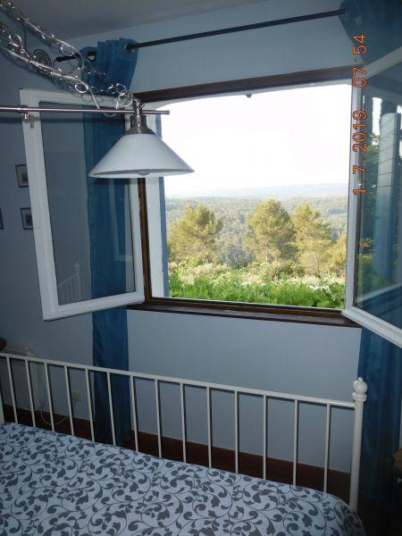 Vue depuis la location Location Villa 98164 Cotignac