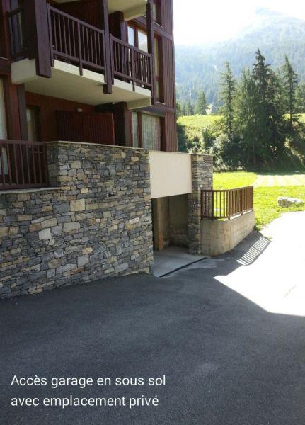 Vue extérieure de la location Location Appartement 101417 Val Cenis