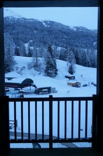 Vue du balcon Location Appartement 101417 Val Cenis