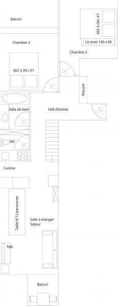 Location Appartement 107171 Tignes