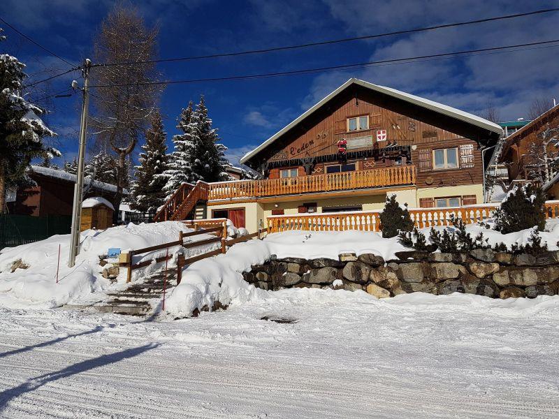 Vue extérieure de la location Location Appartement 107180 La Toussuire