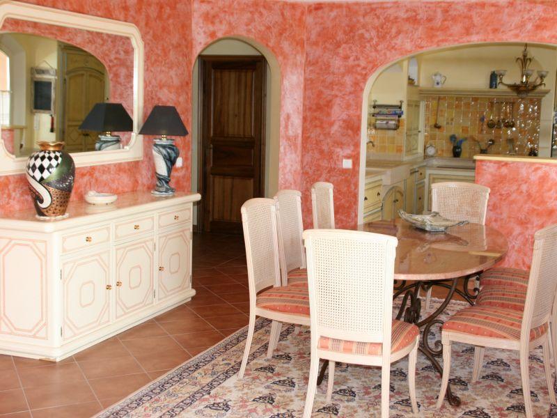 Salle à manger Location Villa 108337 Fayence