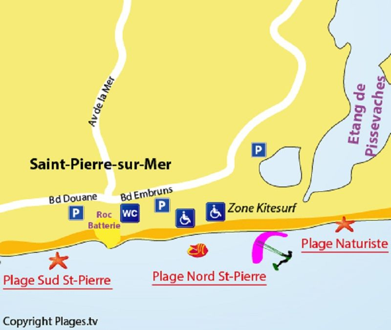 Carte Location Maison 109341 Saint Pierre la Mer