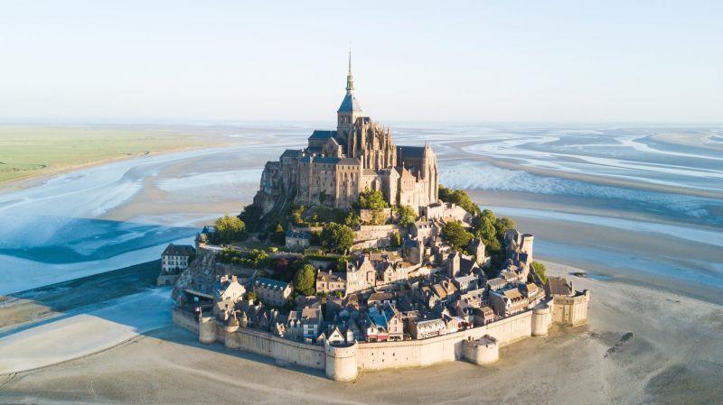 Vue à proximité Location Gite 110861 Mont Saint Michel