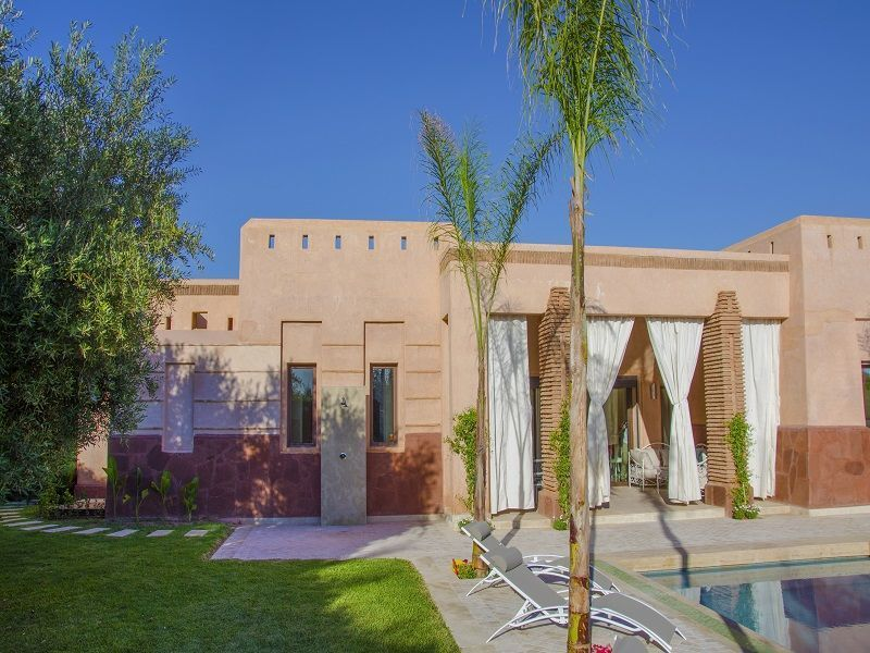 Vue extérieure de la location Location Villa 115912 Marrakech