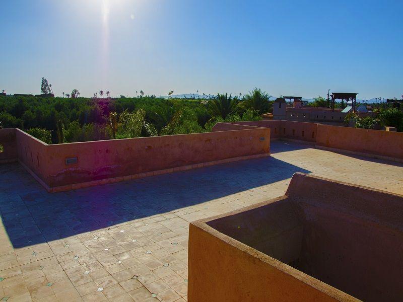Vue de la terrasse Location Villa 115912 Marrakech