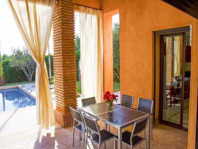 Terrasse Location Villa 115912 Marrakech