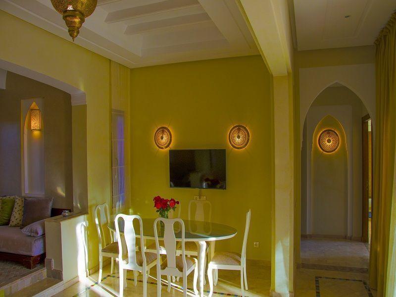 Salle à manger Location Villa 115912 Marrakech