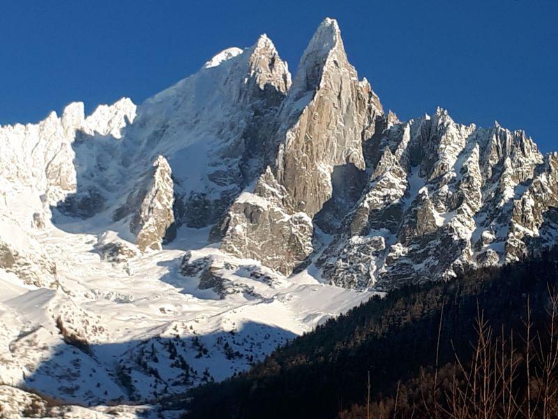 Vue extérieure de la location Location Appartement 116295 Chamonix Mont-Blanc