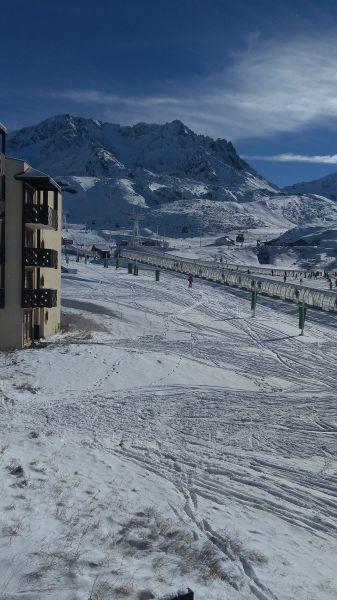Vue de la terrasse Location Appartement 117442 Val Thorens