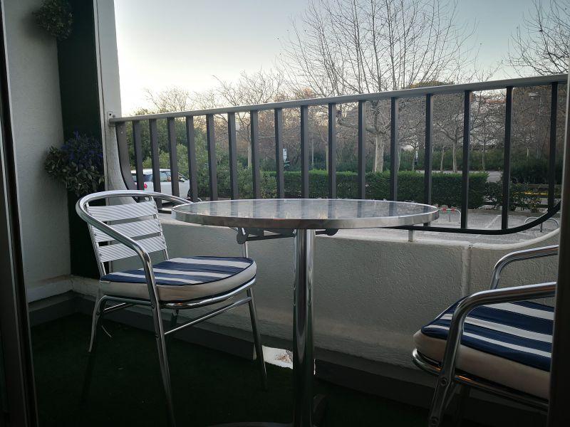 Vue du balcon Location Studio 118711 La Grande Motte