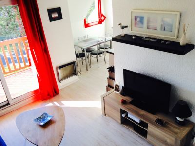 Salon Location Appartement 63538 Deauville