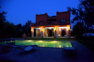 Vue ext�rieure de la location Location Villa 69982 Marrakech