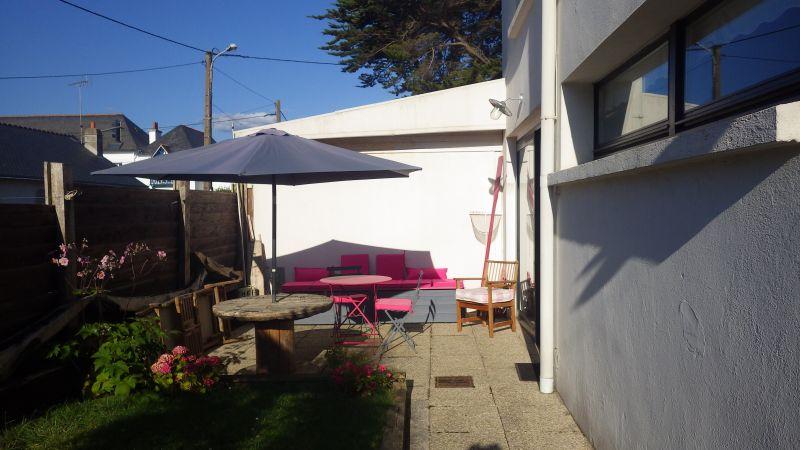 Vue de la terrasse Location Appartement 73569 Saint Pierre Quiberon