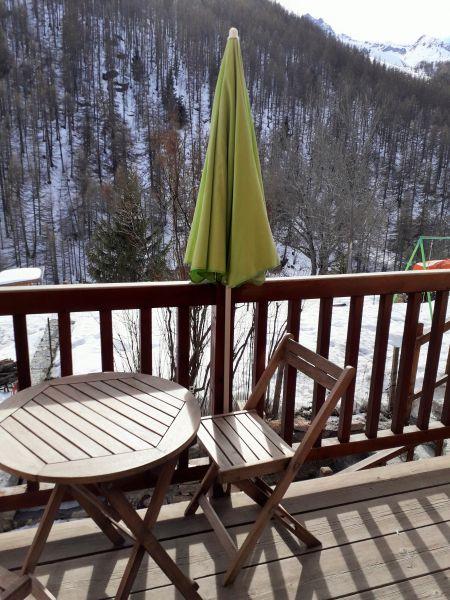 Vue du balcon Location Appartement 79479 La Grave - La Meije