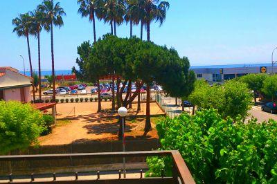 Vue de la terrasse Location Appartement 80136 Barcelone