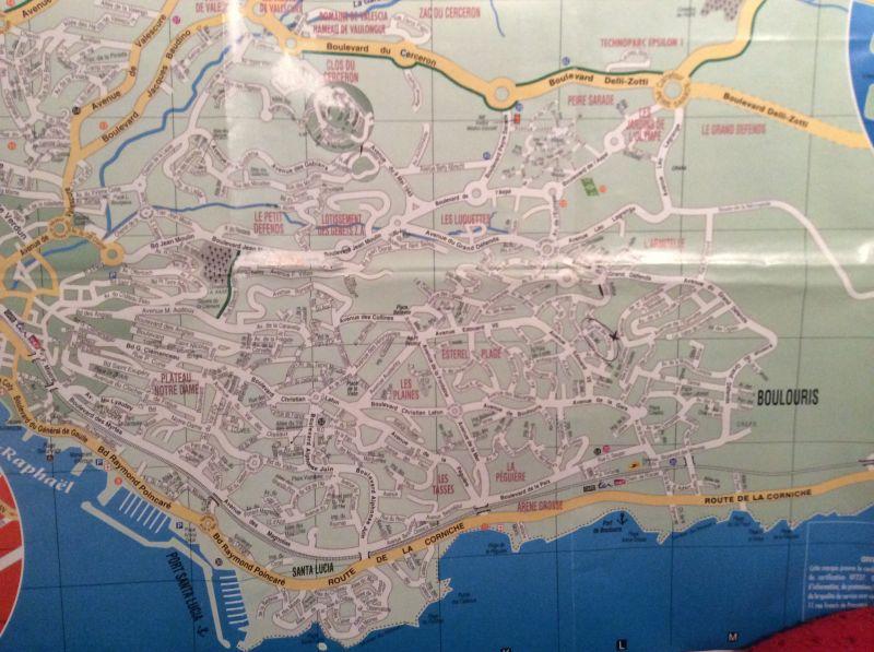 Plan de la location Location Appartement 81116 Saint Raphael