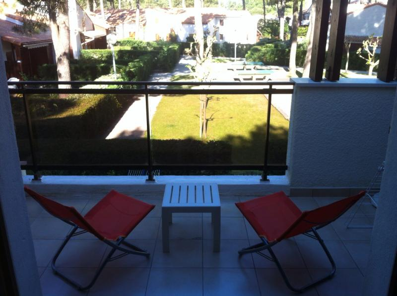 Vue de la terrasse Location Appartement 81259 Les Mathes