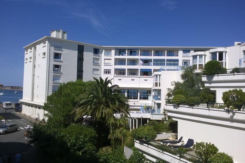 Vue du balcon Location Appartement 89774 Saint Jean de Luz