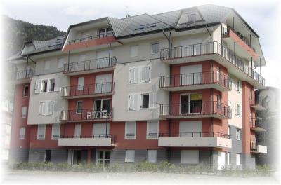 Vue ext�rieure de la location Location Appartement 90703 Saint Gervais Mont-Blanc
