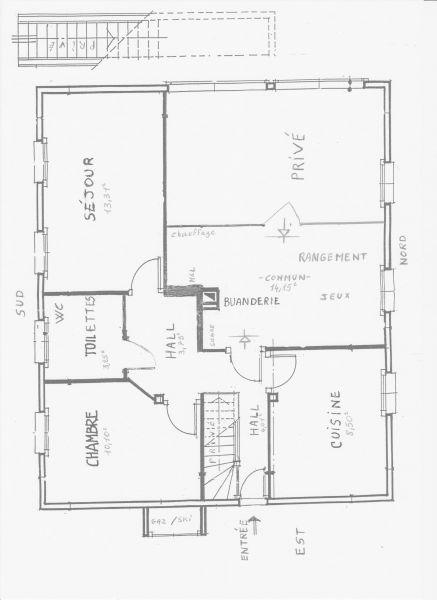 Plan de la location Location Appartement 92987 Evian les Bains
