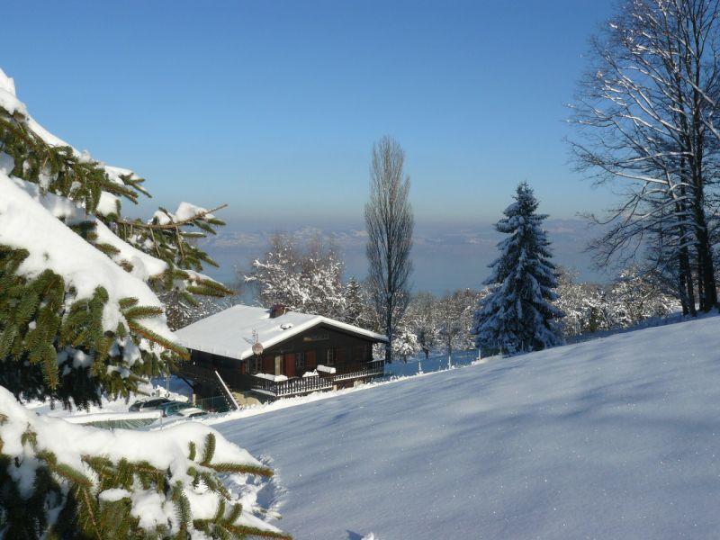 Vue extérieure de la location Location Appartement 92987 Evian les Bains