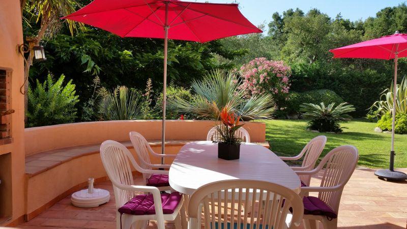 Vue de la terrasse Location Villa 95175 Porto Vecchio