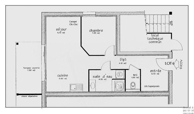 Plan de la location Location Appartement 99227 Gérardmer