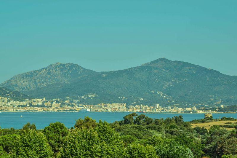 Vue depuis la location Location Appartement 99887 Ajaccio