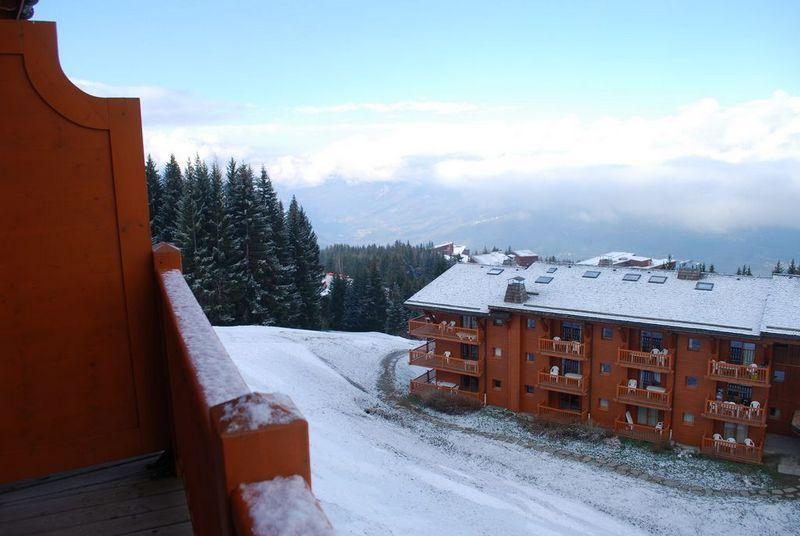 Vue du balcon Location Appartement 101056 Les Arcs