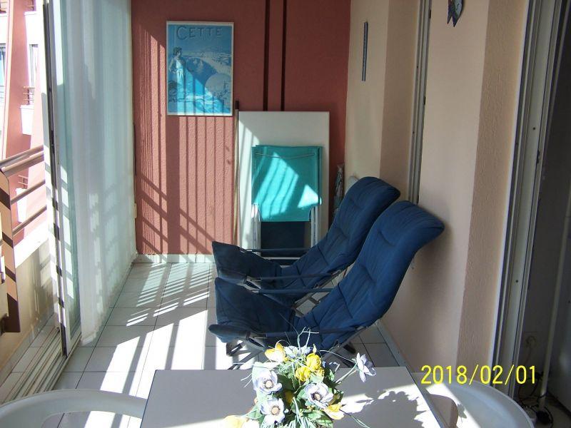 Loggia Location Appartement 103647 Sete