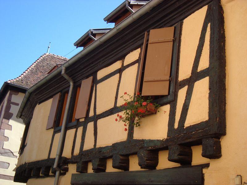 Vue extérieure de la location Location Appartement 103935 Riquewihr