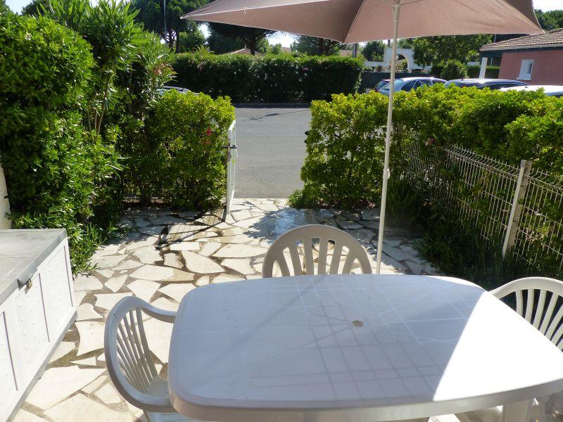 Vue de la terrasse Location Maison 103952 Valras-Plage
