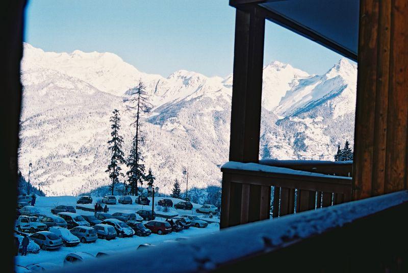 Vue du balcon Location Studio 107072 Valfréjus