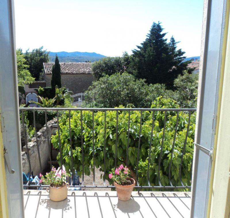 Vue du balcon Location Gite 107651 Durban-Corbières