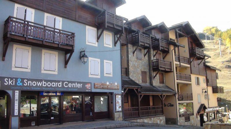 Vue extérieure de la location Location Appartement 109101 Serre Chevalier
