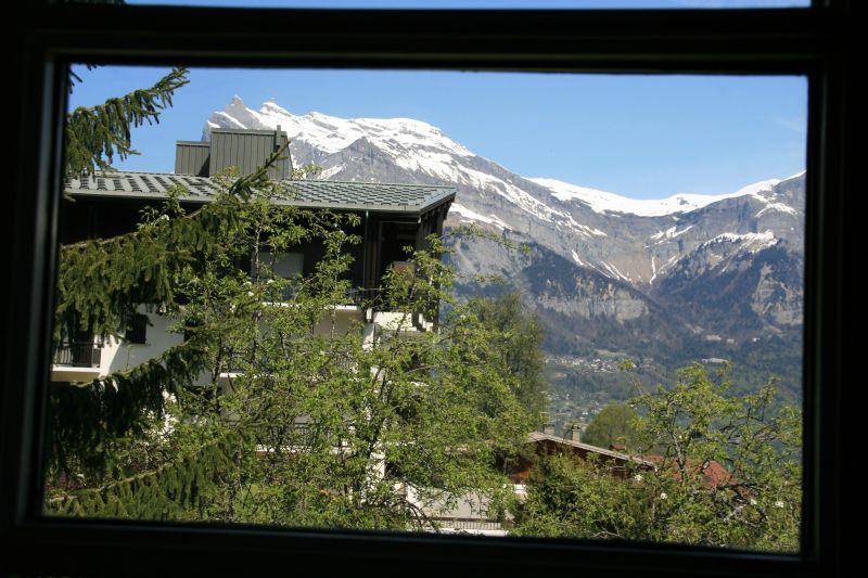 Vue depuis la location Location Appartement 111843 Saint Gervais Mont-Blanc