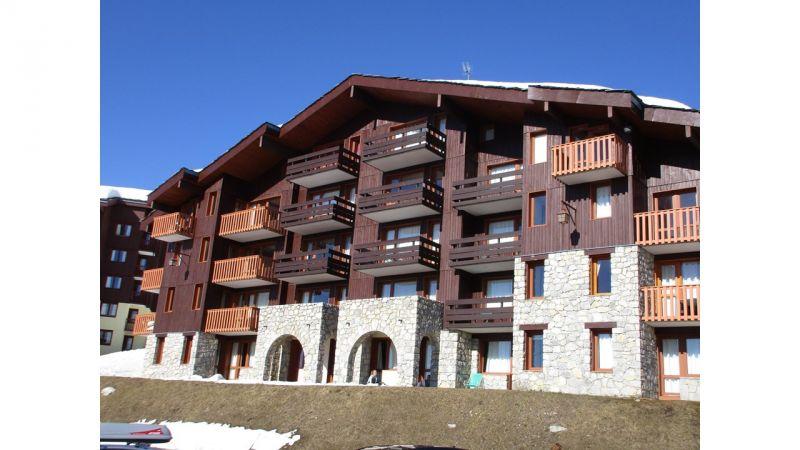 Vue extérieure de la location Location Appartement 111920 La Plagne