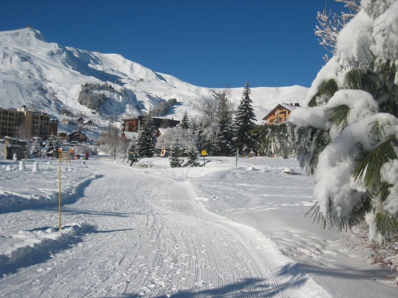 Vue depuis la location Location Chalet 112290 La Toussuire