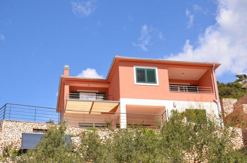 Vue extérieure de la location Location Maison 112566 Trogir