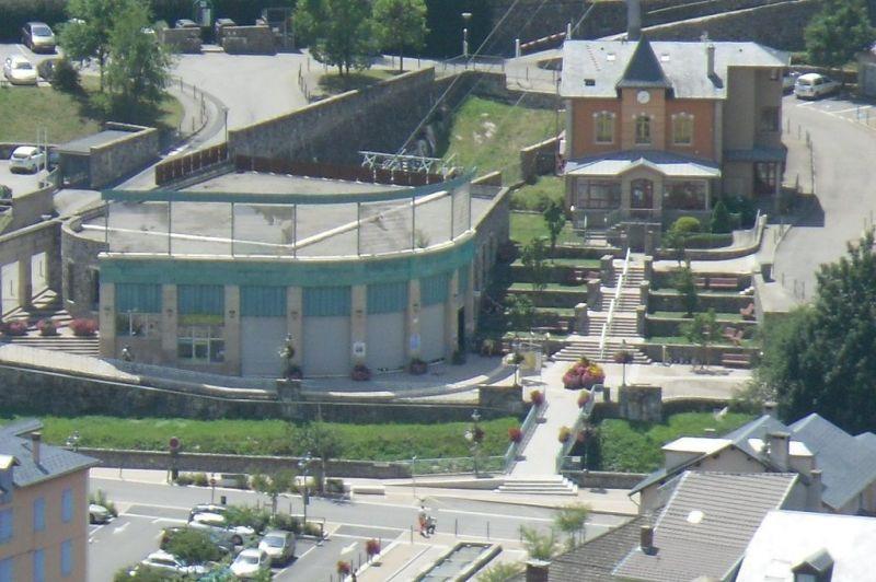 Vue de la terrasse Location Appartement 113013 Ax Les Thermes