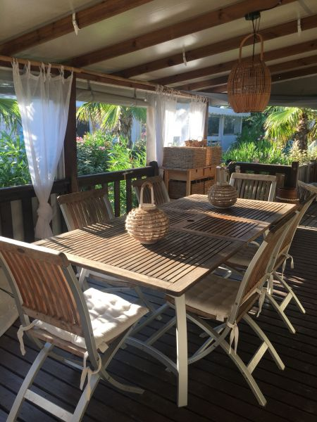 Terrasse 1 Location Mobil-home 113903 Saint Tropez