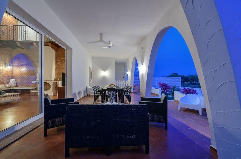 Vue de la terrasse Location Villa 116102 Marina di Ragusa