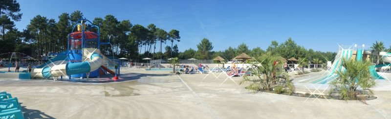 Piscine Location Mobil-home 117792 Saint-Julien-en-Born