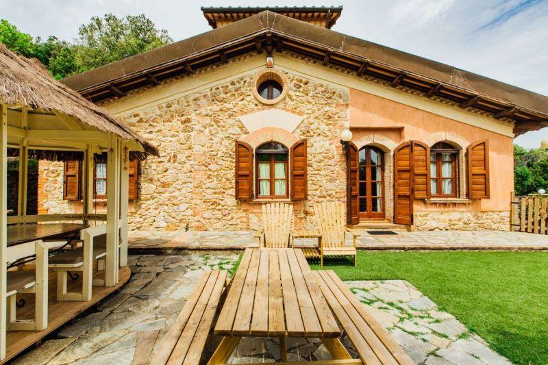 Veranda Location Villa 118750 Gavorrano