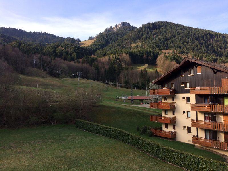 Vue du balcon Location Appartement 65983 Bernex
